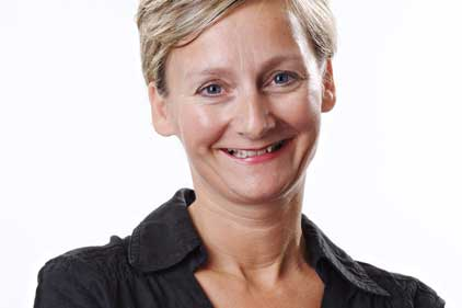 Leading the account: Lesley Booth