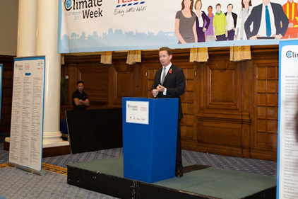 Challenge: Climate Week launch in Westminster