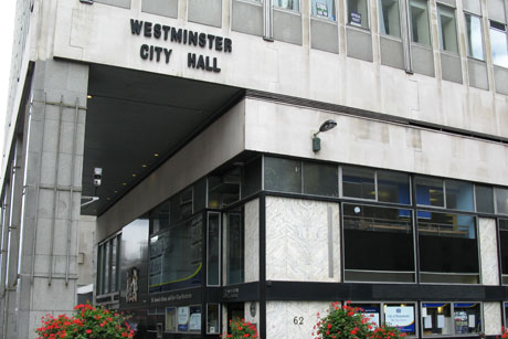 Leading by example: Westminster City Council was one of the authorities praised by Reeves (Credit: Ian Bottle)
