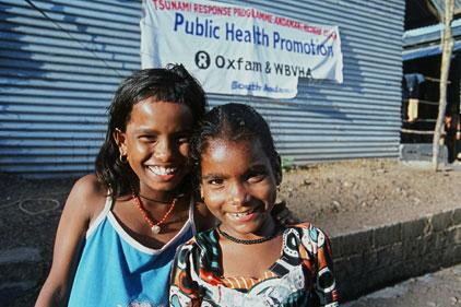 International charity work: Oxfam