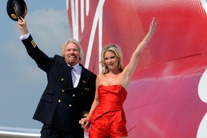 Richard Branson's airline: Virgin Atlantic