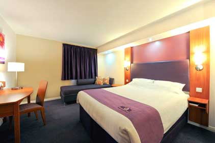 Premier Inn: rated best for budget stays
