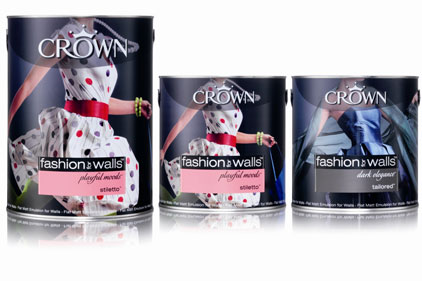 Crown Paints: awards BJL consumer PR account