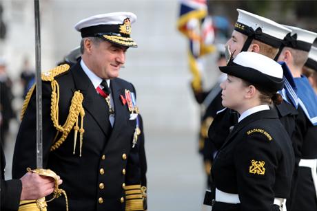 Former military man: Sir Trevor Soar (Rex Features)