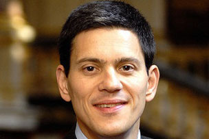 Attempting to launch a TV career? David Miliband