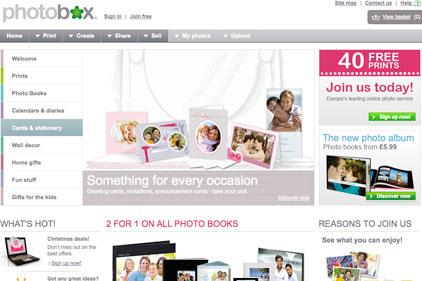 Overhaul: PhotoBox website