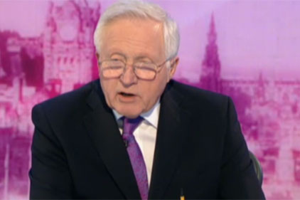 Dimbleby: Still going, 18 hours later...