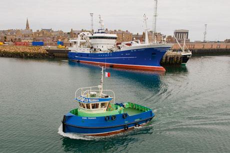 Peterhead harbour: Aberdeenshire Council won Nestrans transport partnership brief