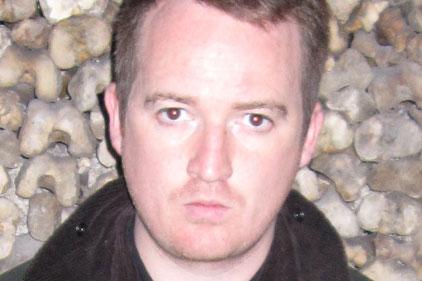 Vice editor Andy Capper