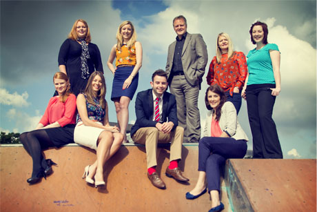 The Equinox Communications team: outstanding public relations consultancy