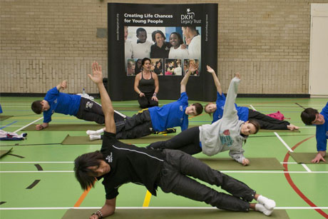Dame Kelly Holmes: Octopus to support campaigns