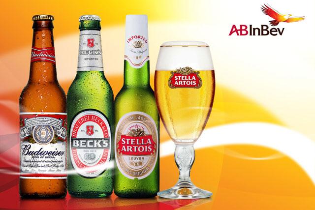 AB InBev: owns many world-famous beer brands