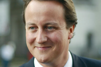 David Cameron: looking further to new media