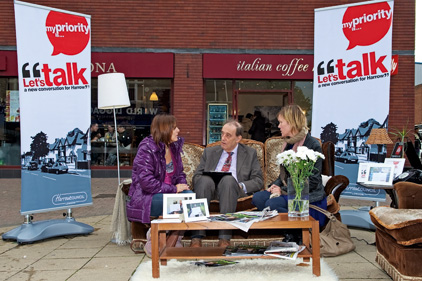 Chat room: Harrow's Let's Talk campaign