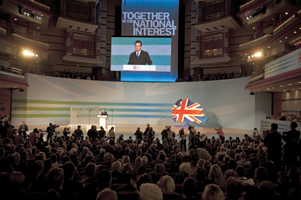 Conference attack: Chancellor among Tories to criticise Miliband