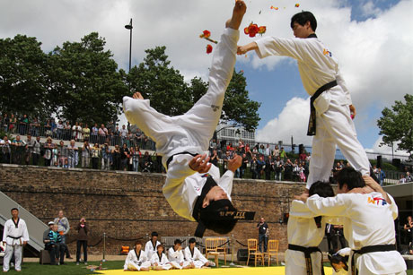 SportAccord: Representing 107 sports bodies such as the World Taekwondo Federation