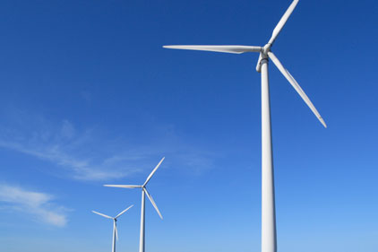 Sustainable energy: wind farming