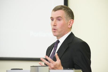 Speaker: Tim Allan (credit David Tett)