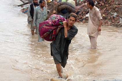 Humanitarian need: Pakistan floods affect 14 million