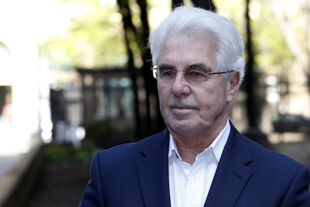 Max Clifford pictured during the trial (credit GC Images)