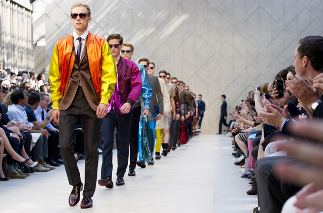 Burberry topped the Social Media Index 2012