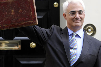 Budget plans revealed: Alistair Darling