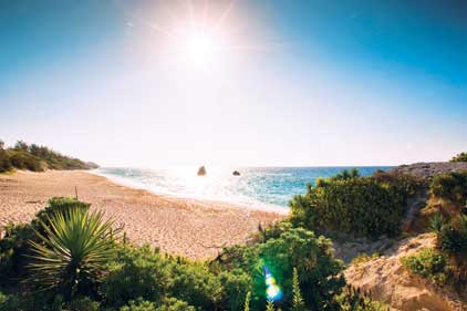 Bermuda: aims to attract UK and Ireland travellers