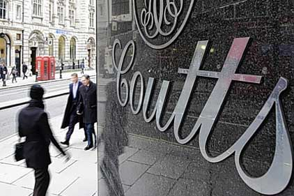 Coutts: Royal Bank of Scotland's private banking arm