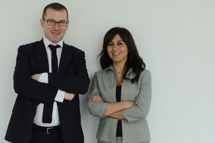 Consultancy launch: Chris McShane and Ghalia Alul