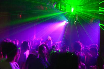 'Binge drinking' image: Club 18-30
