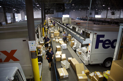 Global delivery: FedEx
