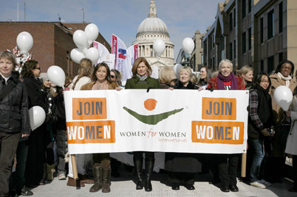 Colation: Women for Women International are on board