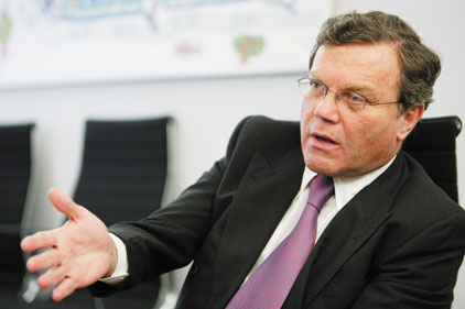 Sorrell: WPP sees 6.7 per cent like-for-like revenue drop
