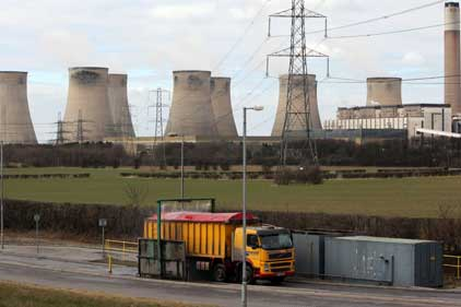 E.On power station: Ratcliffe-on-Soar