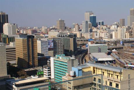 Negative image: South Africa (Credit: Gerald Garner)