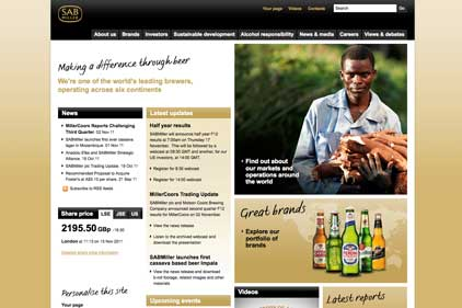 'Intuitive': SABMiller's site