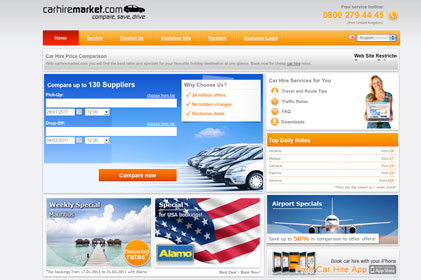 launching UK PR campaign: Carhiremarket.com