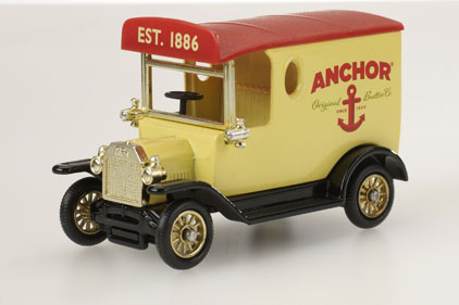 Publicasity: to promote Anchor Butter 125th anniversary