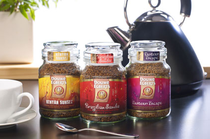 Douwe Egberts: UK's third largest coffee supplier