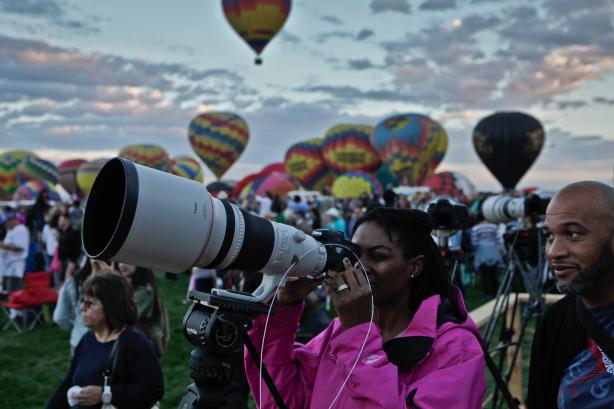 The 44th Annual Albuquerque International Balloon Fiesta, courtesy of AP