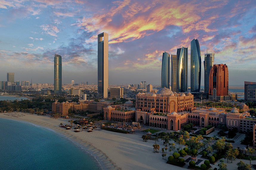 Abu Dhabi is capital of the UAE (©GettyImages)