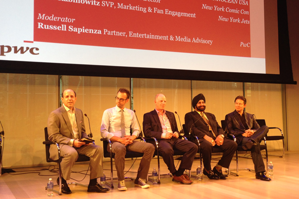 L-R: Sapienza, Fensterman, Rabinowitz, Bhatia, and Braun