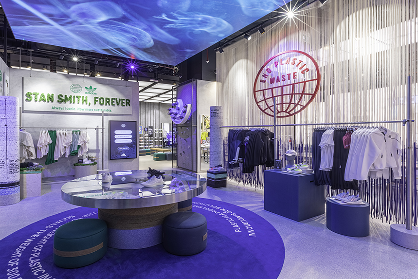 Adidas' flagship store in the GCC