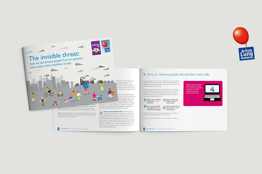 The charity's report was released to launch the 'Invisible Threat' campaign