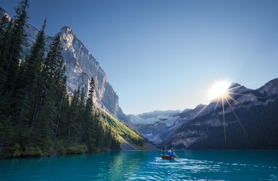 Tourist destination: Lake Louise, Alberta, Canada