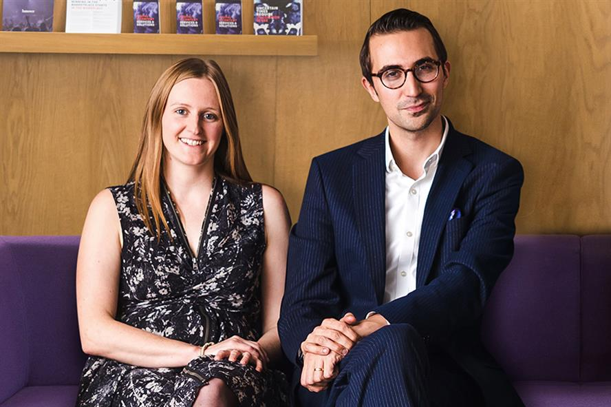 Emma Gorton (L) and Alex Davies (R) will lead the new London Health Team at Hanover