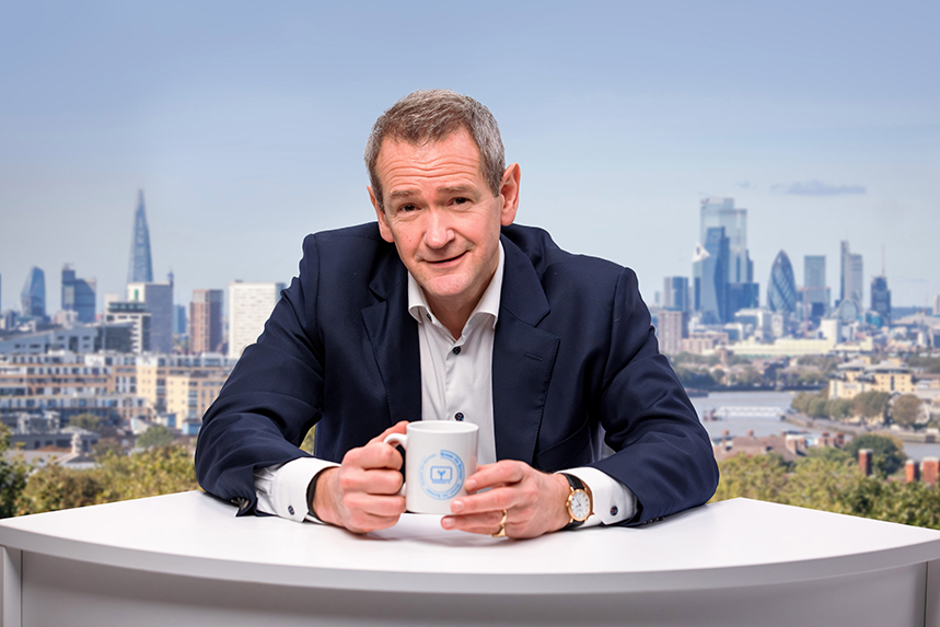 Alexander Armstrong fronts a new campaign for Smart Energy GB