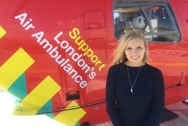 Message to journalists from Alex Sutherland: Sorry for pestering you about referring to Air Ambulance as a charity!