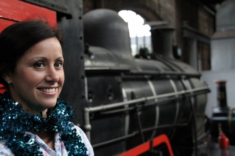 Win: Cube PR director Alison Short at the Polar Express