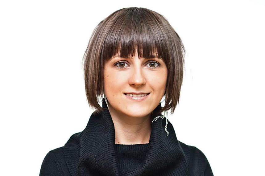 Anastasiya Golovatenko is an account director at Sherpa Communications